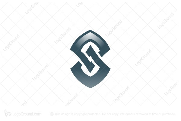 Logo for sale: Innerwoven S Glyph Logo