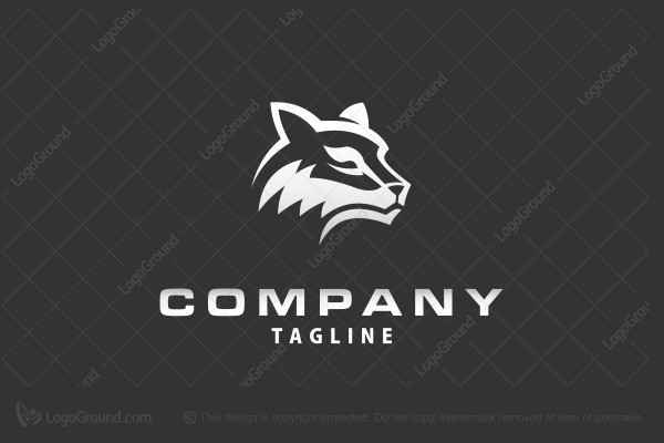 Logo for sale: Silver Wolf Logo