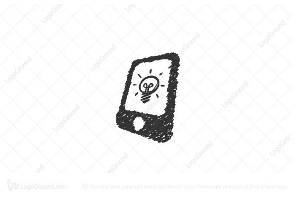 Logo for sale: Phone Bright Logo