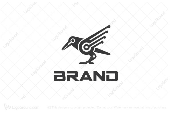 Logo for sale: Crow Logo
