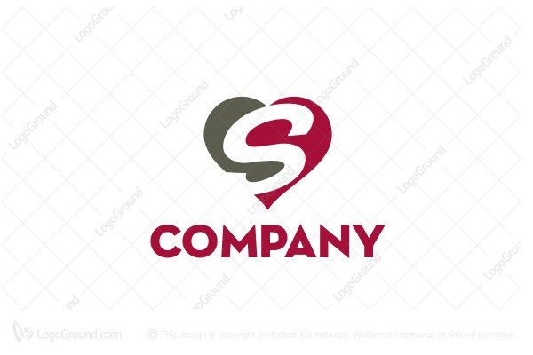 Logo for sale: Love S Logo