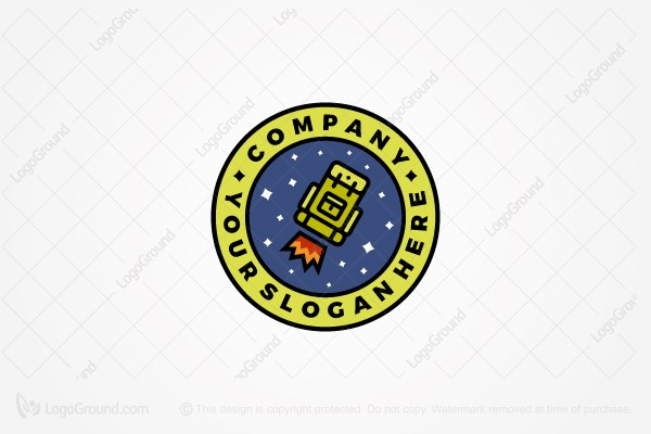 Logo for sale: Space Travel Logo