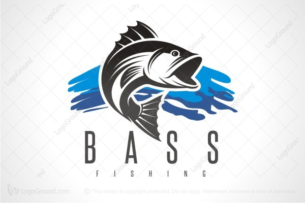 bass fishing logos  Bass Fishing Club Logo