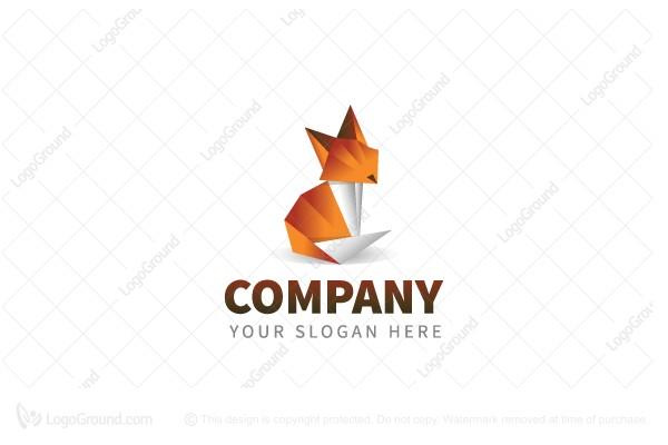 Origami Fox Logo