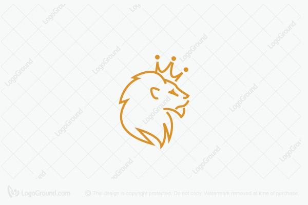 Logo For Sale King Lion