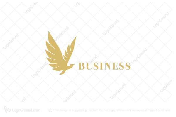 Logo for sale: Elegant Bird Logo