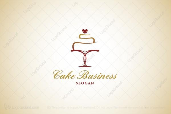 Cake Logo Design Free