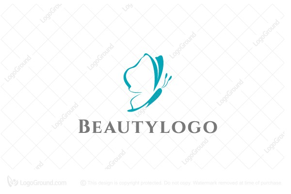 Logo for sale: Beautiful Butterfly Logo