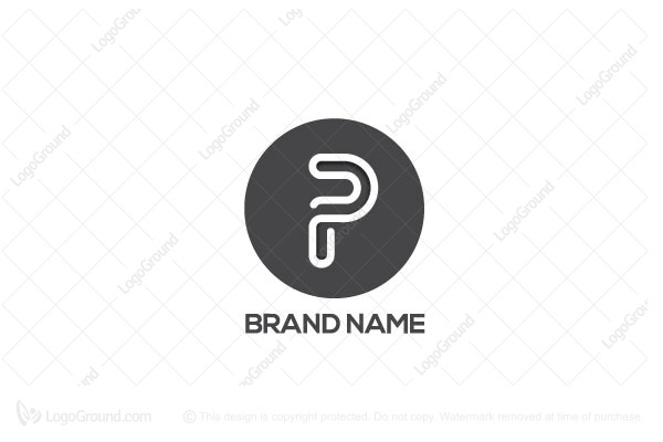 8d053bb9d5380 Exclusive Logo 30338, Letter P logo
