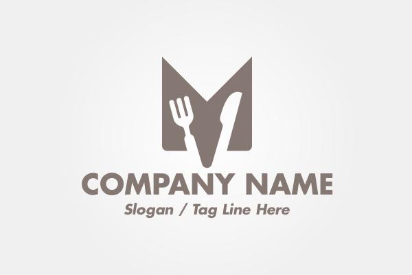 Logo For Sale Letter M Restaurant