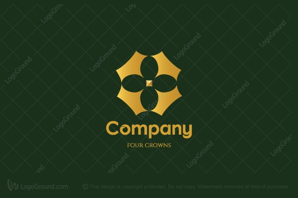 Logo for sale: Four Crowns Logo