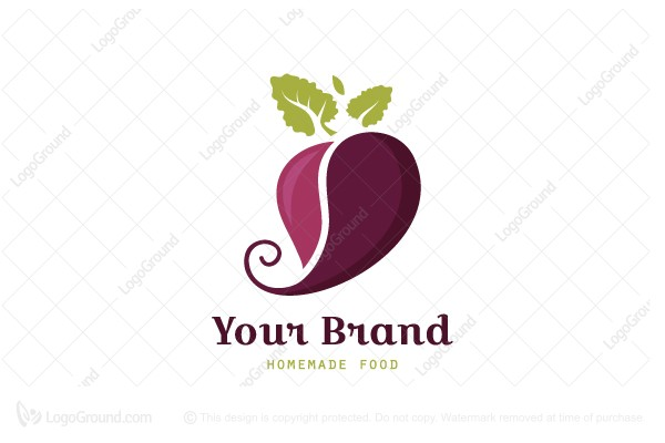 Beet Homemade Food Logo