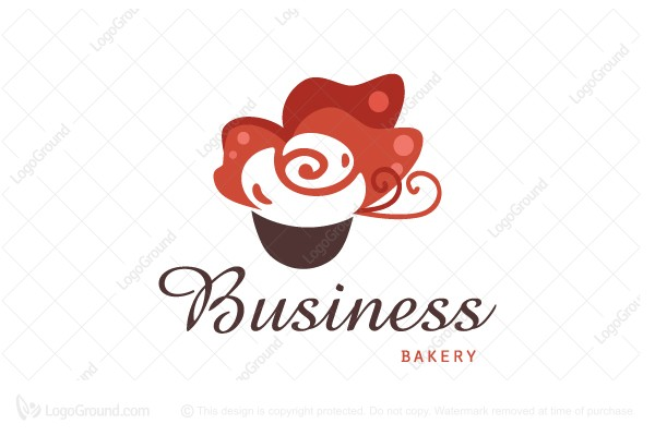 Logo for sale: Butterfly Cupcakes Logo