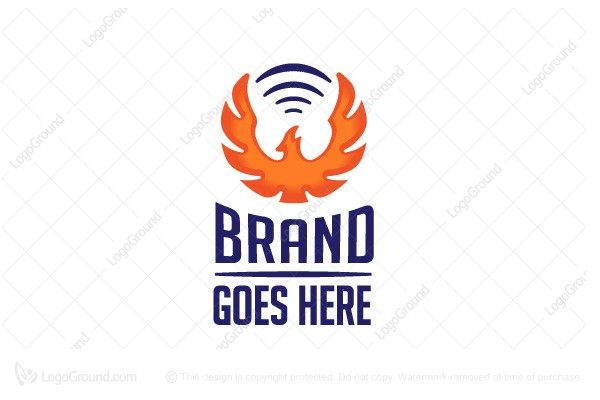 Logo for sale: Sound Rebirth Phoenix Logo Design Logo