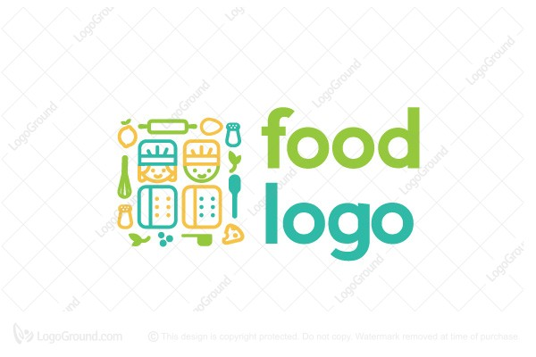 Logo for sale: Chef Kids Logo