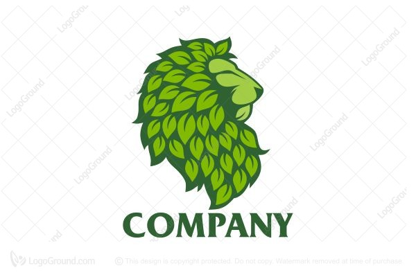 Logo for sale: Green Lion Logo