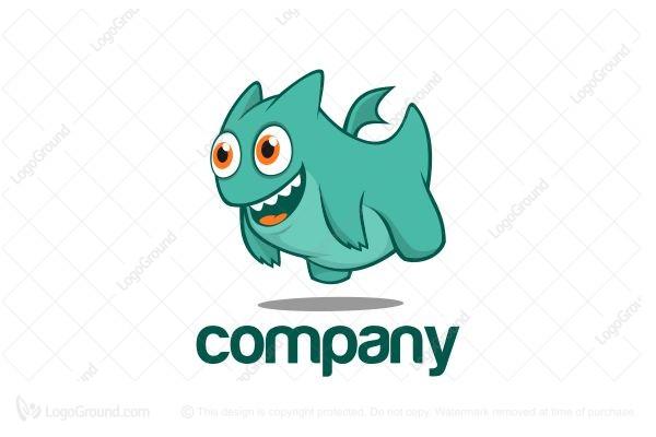 cute dragon logo