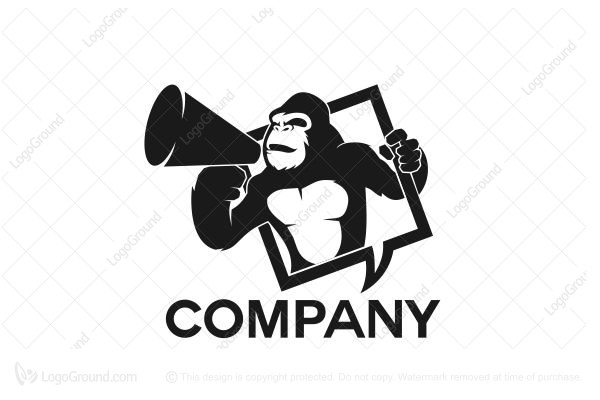 Logo for sale: Loud Gorilla Logo