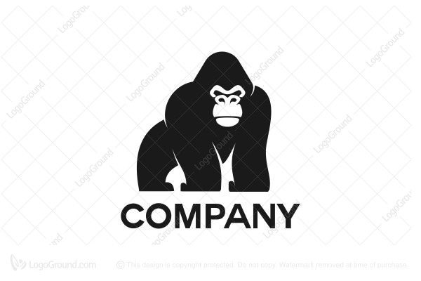 Logo for sale: Gorilla 2 Logo