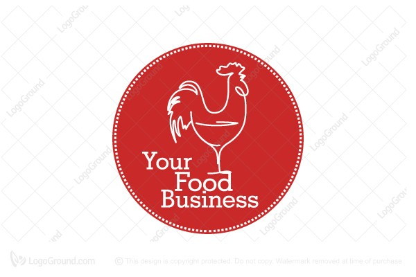 Logo for sale: Rooster Cafe Logo