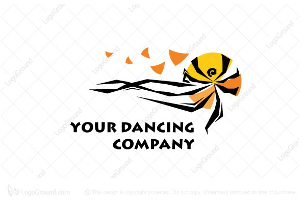 Logo for sale: Dancing Vibes Logo