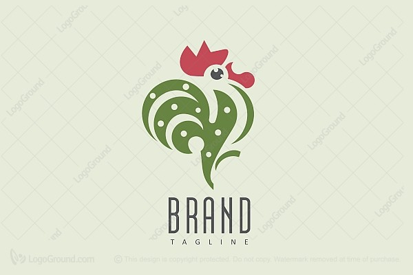 Logo for sale: Rooster Logo