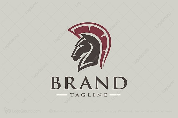 Logo for sale: Horse Warrior Logo