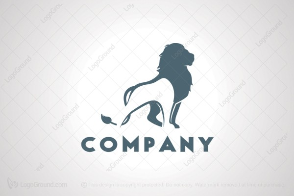Logo for sale: Brave Lion Logo