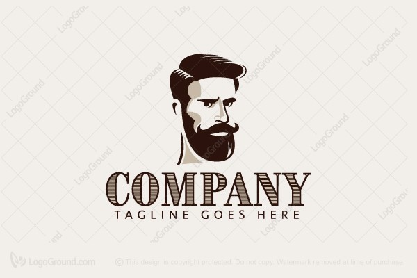 Logo for sale: Male Grooming Logo