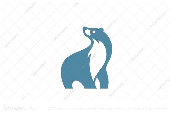 Logo for sale: Modern Bear Logo