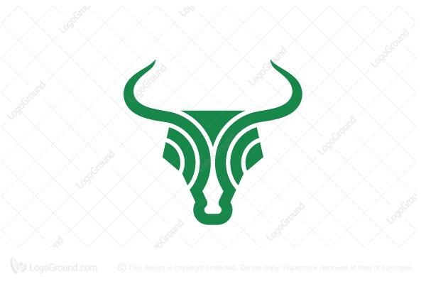 Exclusive Logo 23764 Radar Bull Head Forex Trading Logo -