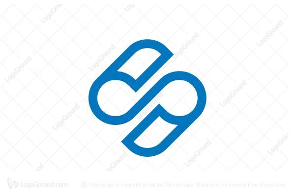 Logo For Letter S Infinity Paper