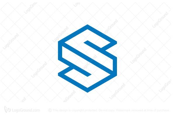 3d cubic letter s logo logo for sale 3d cubic letter s logo altavistaventures Image collections
