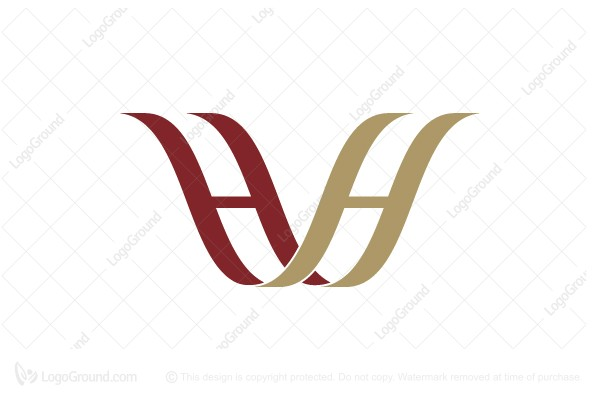 Logo For Sale Double Letter H