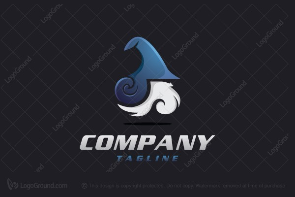 Wizard logo for Logo creation wizard