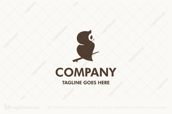 Logo for sale: Cool Owl Logo