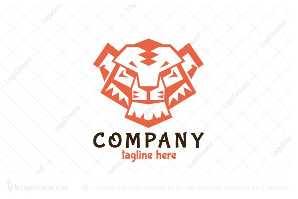 Logo for sale: Tiger Power Logo