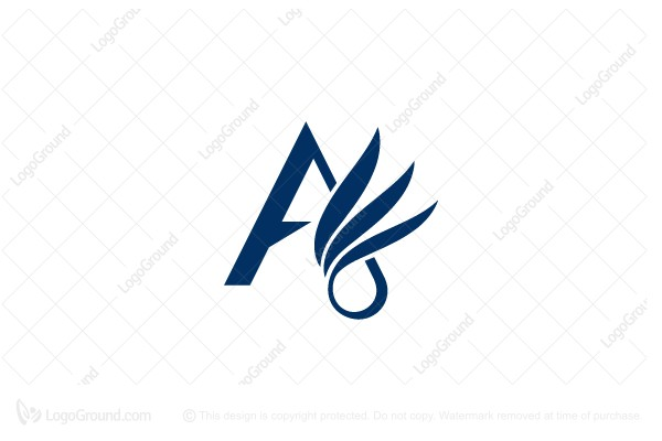 Logo for sale: Letter A Wing Logo