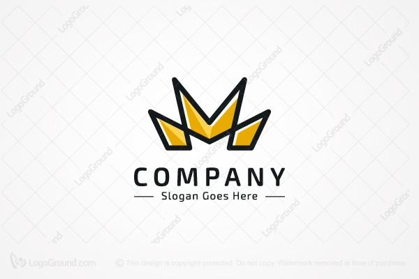 Crown Letter M Logo