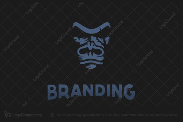 Logo for sale: Gorilla In Dark  Logo
