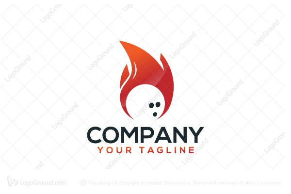 Logo for sale: Bowling Burn Logo