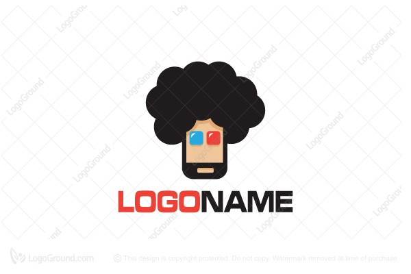Logo for sale: Afro Apps Logo