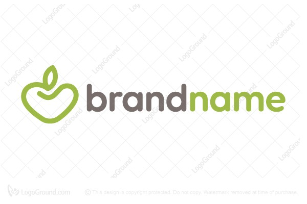 Logo for sale: Fruit Lovers / Health Food Logo