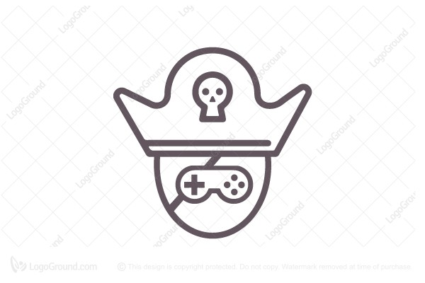 Logo for sale: Pirate Games  Logo