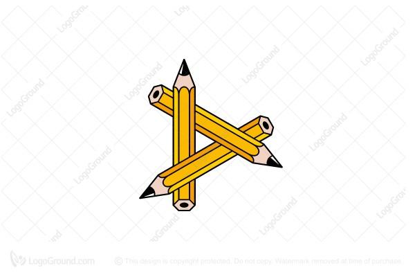 Exclusive Logo 39332 Pencil Triangle