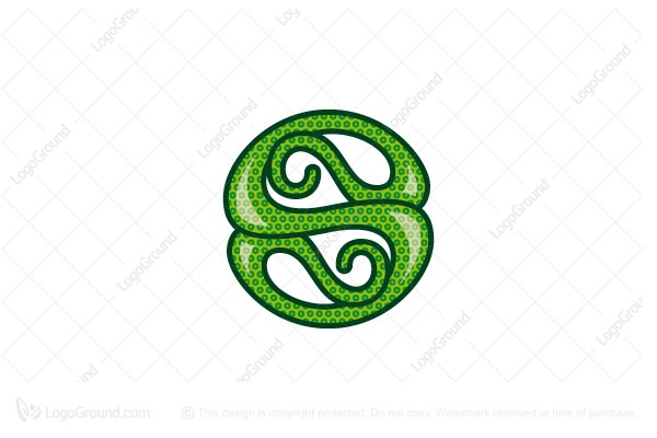 Logo for sale: Serpentine Letter S Logo
