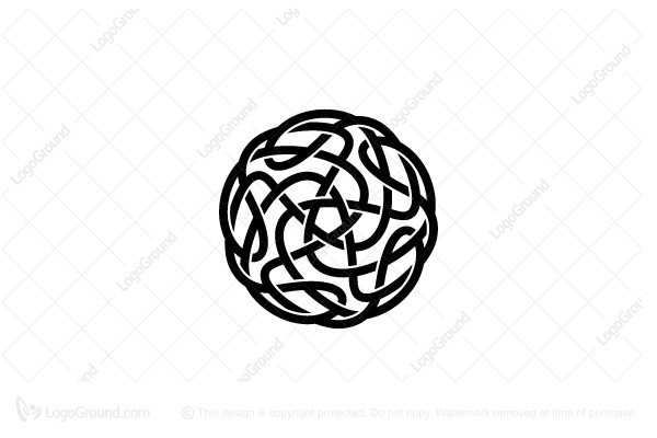 Logo for sale: Abstract Knot Logo