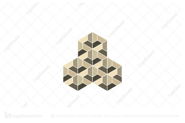 Exclusive Logo 43390, Geometrical Logo