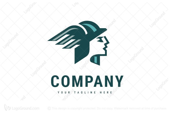 Logo for sale  Wing Cap Logo a6c9898942a