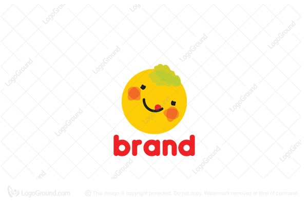 Logo for sale: Happy Food Logo